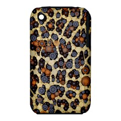 Cheetah Abstract Apple iPhone 3G/3GS Hardshell Case (PC+Silicone)