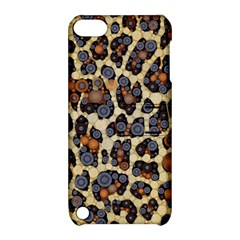 Cheetah Abstract Apple Ipod Touch 5 Hardshell Case With Stand