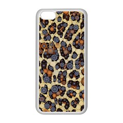 Cheetah Abstract Apple Iphone 5c Seamless Case (white)
