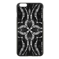 Black Onyx  Apple iPhone 6 Plus Black Enamel Case