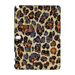 Cheetah Abstract Samsung Galaxy Note 10 1 (p600) Hardshell Case