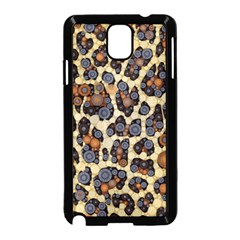 Cheetah Abstract Samsung Galaxy Note 3 Neo Hardshell Case (Black)