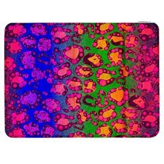 Florescent Cheetah Samsung Galaxy Tab 7  P1000 Flip Case