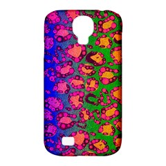 Florescent Cheetah Samsung Galaxy S4 Classic Hardshell Case (pc+silicone)