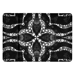 Black Onyx  Samsung Galaxy Tab 8 9  P7300 Flip Case