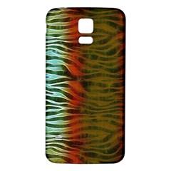 Earthy Zebra Samsung Galaxy S5 Back Case (white)