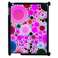 Bubble Gum Polkadot  Apple Ipad 2 Case (black)