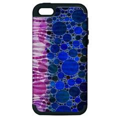 Crazy Zebra  Apple Iphone 5 Hardshell Case (pc+silicone)