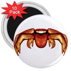 Alien Spider 3  Button Magnet (10 Pack)