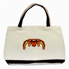 Alien Spider Twin-sided Black Tote Bag