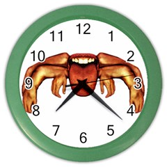 Alien Spider Wall Clock (color)