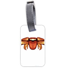 Alien Spider Luggage Tag (two Sides)