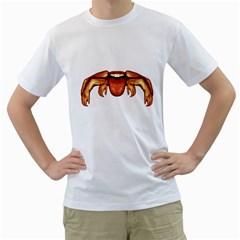 Alien Spider Men s T-Shirt (White)