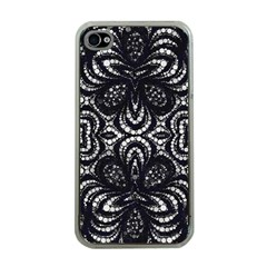 Twisted Zebra  Apple Iphone 4 Case (clear)