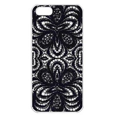 Twisted Zebra  Apple Iphone 5 Seamless Case (white)