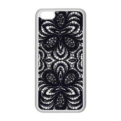 Twisted Zebra  Apple iPhone 5C Seamless Case (White)