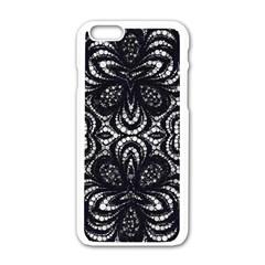 Twisted Zebra  Apple iPhone 6 White Enamel Case