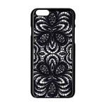 Twisted Zebra  Apple iPhone 6 Black Enamel Case Front