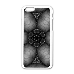 Black Marshmallow  Apple iPhone 6 White Enamel Case