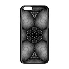 Black Marshmallow  Apple iPhone 6 Black Enamel Case