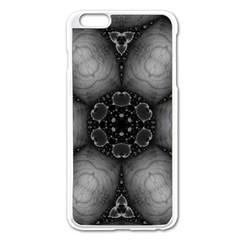 Black Marshmallow  Apple iPhone 6 Plus Enamel White Case