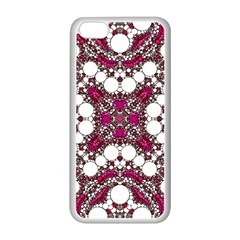 Pink Pearl Apple iPhone 5C Seamless Case (White)