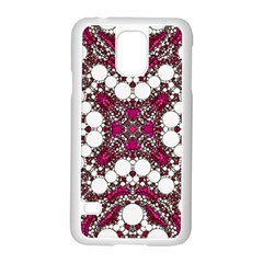 Pink Pearl Samsung Galaxy S5 Case (White)