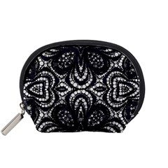 Twisted Zebra  Accessory Pouch (Small)
