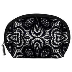 Twisted Zebra  Accessory Pouch (large)