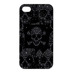 Skulls Dipped In Bling Apple Iphone 4/4s Premium Hardshell Case