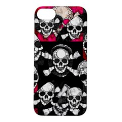 Metal Bling Skulls  Apple iPhone 5S Hardshell Case