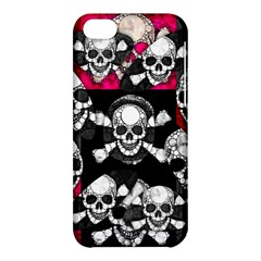 Metal Bling Skulls  Apple Iphone 5c Hardshell Case