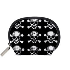 Skull Bling Accessory Pouch (Small)