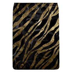 Gold Zebra  Removable Flap Cover (large)