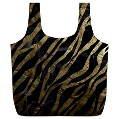 Gold Zebra  Reusable Bag (xl)