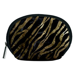 Gold Zebra  Accessory Pouch (Medium)