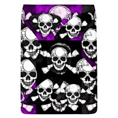 Purple Haze Skull And Crossbones  Removable Flap Cover (large)