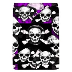 Purple Haze Skull And Crossbones  Removable Flap Cover (small)