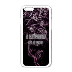 Chasing Clouds Apple Iphone 6 White Enamel Case