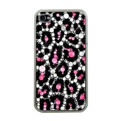 Pink Cheetah Bling Apple Iphone 4 Case (clear)