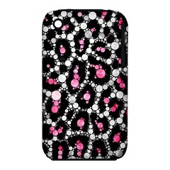 Pink Cheetah Bling Apple iPhone 3G/3GS Hardshell Case (PC+Silicone)
