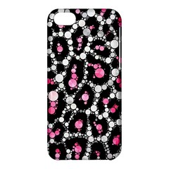 Pink Cheetah Bling Apple iPhone 5C Hardshell Case