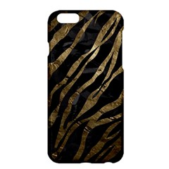 Gold Zebra  Apple Iphone 6 Plus Hardshell Case