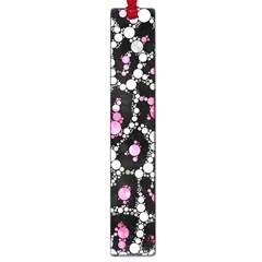 Pink Cheetah Bling Large Bookmark