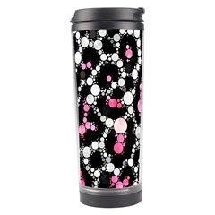 Pink Cheetah Bling Travel Tumbler