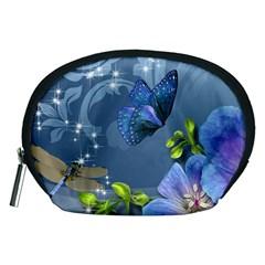 Dragonfly_blue Accessory Pouch (Medium)