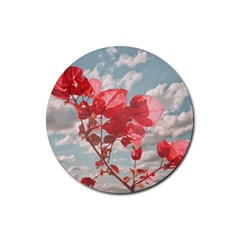 Flowers In The Sky Drink Coaster (round)