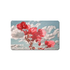 Flowers In The Sky Magnet (name Card)