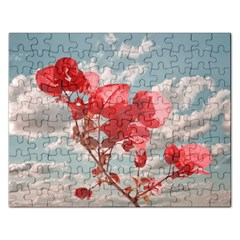 Flowers In The Sky Jigsaw Puzzle (rectangle)
