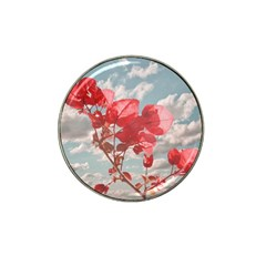 Flowers In The Sky Golf Ball Marker (for Hat Clip)
